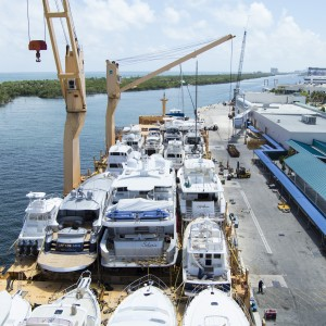 United Yacht Transport - Full Deck Aboard the Tong An Cheng