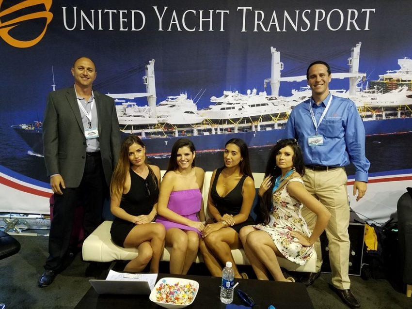 united yacht transport team
