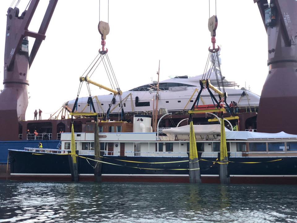 United Yacht Transport - MV Industrial Strength